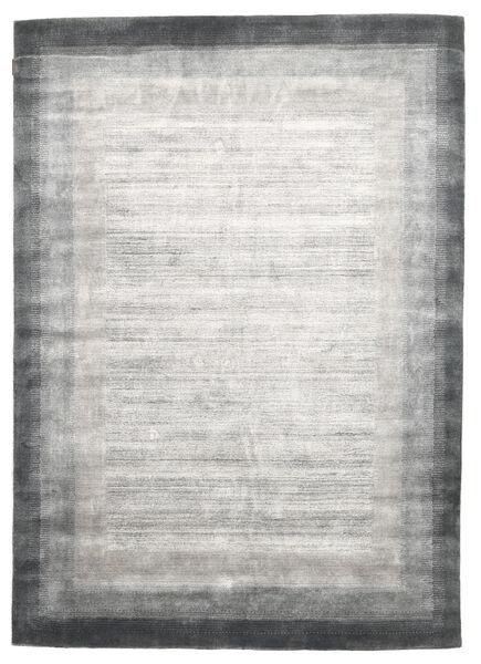 Loribaf Loom Matto 204X300 Moderni Käsinsolmittu Vaaleanharmaa/Valkoinen/Creme (Villa, Intia)