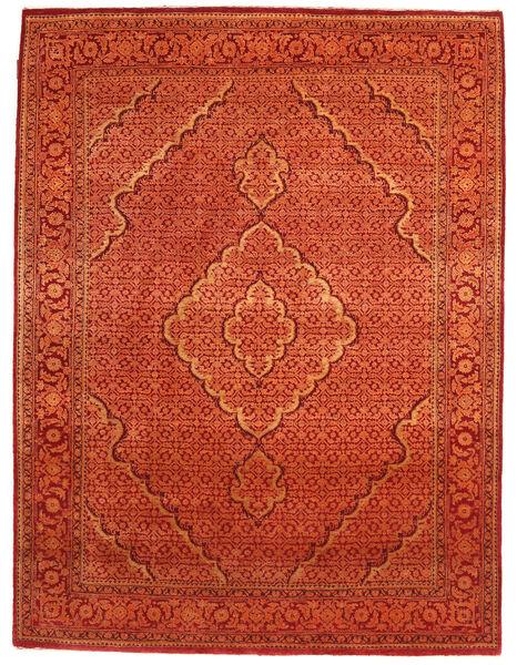 Gabbeh Loribaft Matto 155X205 Moderni Käsinsolmittu Oranssi/Punainen/Ruoste (Villa, Intia)
