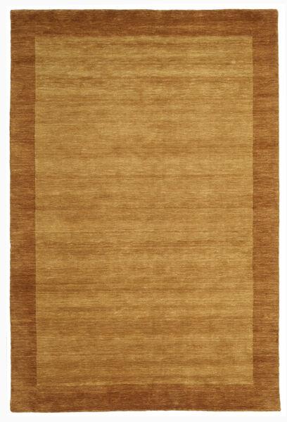 Handloom Frame - Kulta Matto 200X300 Moderni Ruskea/Vaaleanruskea (Villa, Intia)