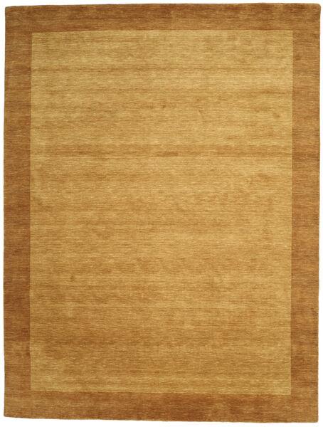 Handloom Frame - Kulta Matto 300X400 Moderni Beige/Ruskea/Vaaleanruskea Isot (Villa, Intia)