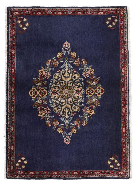 Keshan Matto 68X96 Itämainen Käsinsolmittu Tummanvioletti/Tummanruskea (Villa, Persia/Iran)