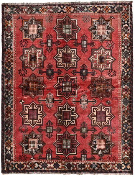 Ghashghai Allekirjoitettu: Kadamali Year 1374 (1995) Matto 167X213 Itämainen Käsinsolmittu Musta/Tummanruskea (Villa, Persia/Iran)