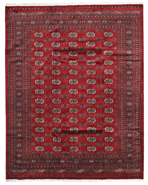 Pakistan Bokhara 3Ply Matto 202X253 Itämainen Käsinsolmittu Tummanpunainen/Punainen (Villa, Pakistan)