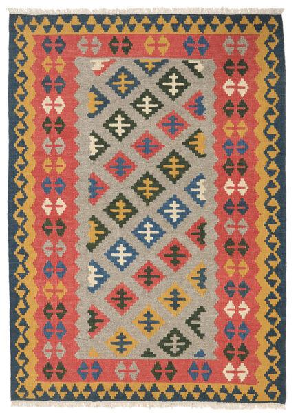 Kelim Matto 107X150 Itämainen Käsinkudottu Ruoste/Vaaleanruskea (Villa, Persia/Iran)