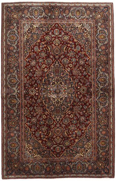 Keshan Matto 136X210 Itämainen Käsinsolmittu Tummanpunainen/Tummanruskea (Villa, Persia/Iran)