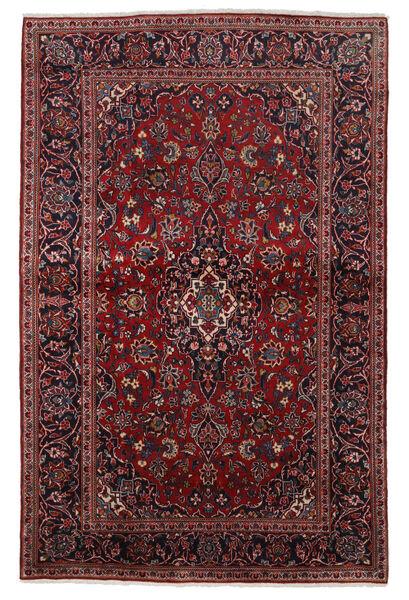 Keshan Matto 140X215 Itämainen Käsinsolmittu Tummanpunainen (Villa, Persia/Iran)
