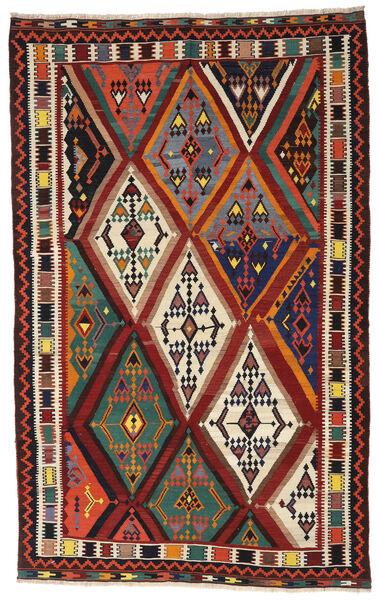 Kelim Vintage Matto 173X283 Itämainen Käsinkudottu Tummanpunainen/Musta (Villa, Persia/Iran)