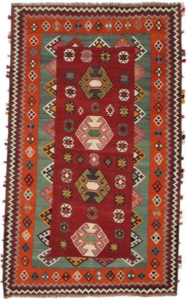 Kelim Vintage Matto 146X251 Itämainen Käsinkudottu Tummanpunainen/Tummanruskea (Villa, Persia/Iran)