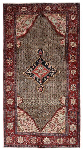 Koliai Matto 157X291 Itämainen Käsinsolmittu Käytävämatto Tummanruskea/Tummanpunainen (Villa, Persia/Iran)
