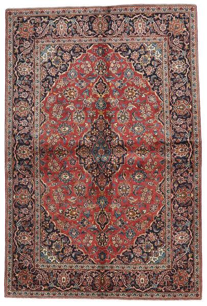 Keshan Matto 140X215 Itämainen Käsinsolmittu Tummanpunainen/Musta (Villa, Persia/Iran)