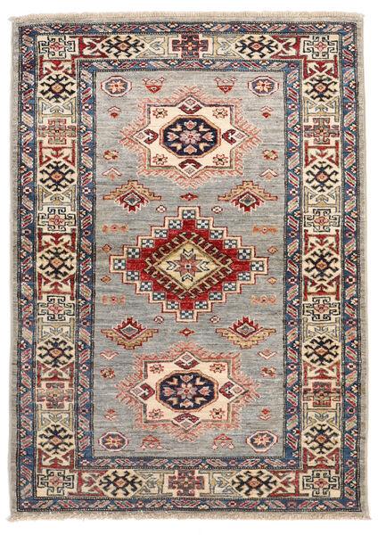 Kazak Ariana Matto 104X146 Moderni Käsinsolmittu Vaaleanharmaa/Tummanpunainen (Villa, Afganistan)