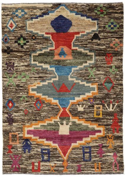Moroccan Berber - Afghanistan Matto 119X166 Moderni Käsinsolmittu Vaaleanruskea/Tummanharmaa (Villa, Afganistan)