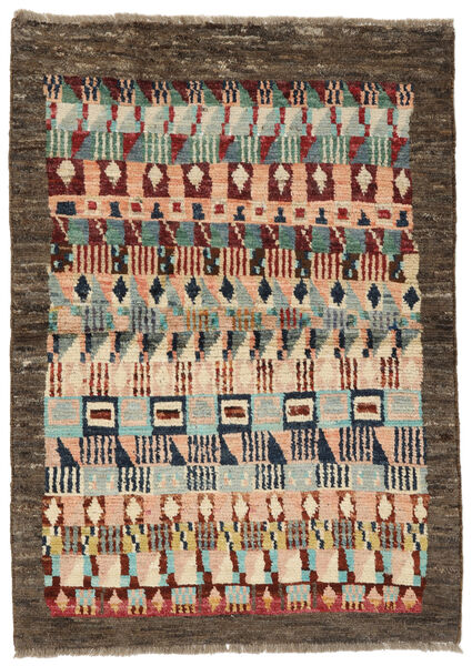 Moroccan Berber - Afghanistan Matto 94X133 Moderni Käsinsolmittu Tummanharmaa/Tummanpunainen (Villa, Afganistan)