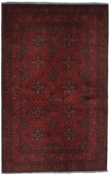Afghan Khal Mohammadi Matto 128X200 Itämainen Käsinsolmittu Musta (Villa, Afganistan)