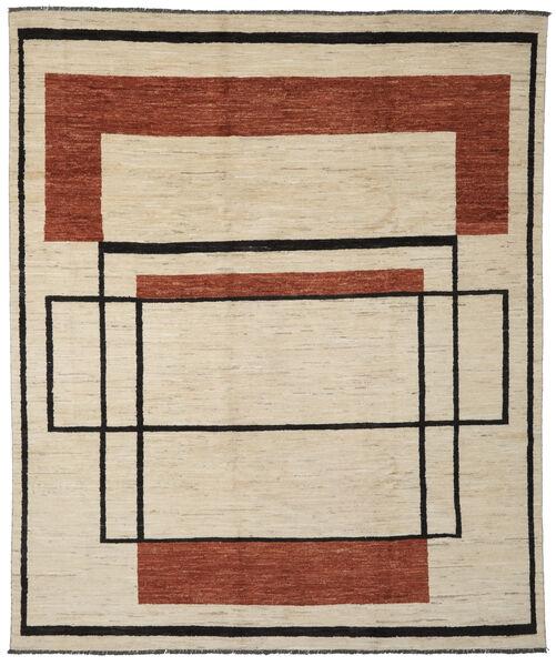 Moroccan Berber - Afghanistan Matto 253X296 Moderni Käsinsolmittu Vaaleanruskea/Tummanruskea Isot (Villa, Afganistan)