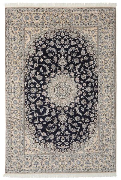 Nain 9La Matto 249X365 Itämainen Käsinsolmittu Tummanharmaa/Musta (Villa/Silkki, Persia/Iran)
