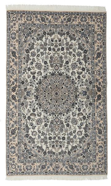 Nain 9La Matto 127X205 Itämainen Käsinsolmittu Musta/Tummanharmaa (Villa/Silkki, Persia/Iran)
