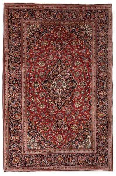 Keshan Matto 198X300 Itämainen Käsinsolmittu Tummanruskea/Musta (Villa, Persia/Iran)