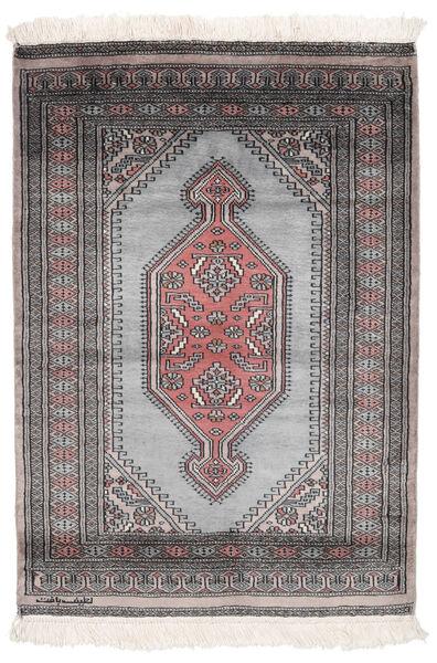 Pakistan Bokhara 2Ply Matto 84X120 Itämainen Käsinsolmittu Musta/Tummanruskea (Villa, Pakistan)