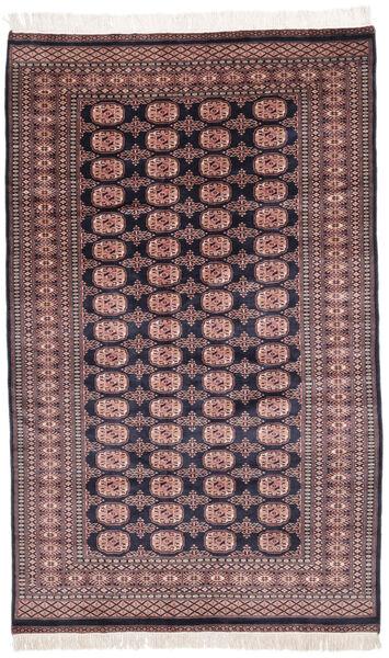 Pakistan Bokhara 2Ply Matto 155X252 Itämainen Käsinsolmittu Tummanruskea/Tummanpunainen (Villa, Pakistan)