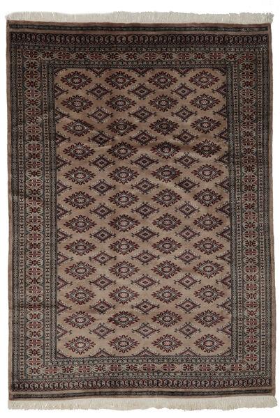 Pakistan Bokhara 3Ply Matto 170X240 Itämainen Käsinsolmittu Musta/Tummanruskea (Villa, Pakistan)
