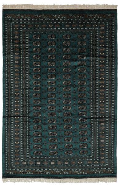 Pakistan Bokhara 2Ply Matto 190X280 Itämainen Käsinsolmittu Musta (Villa, Pakistan)