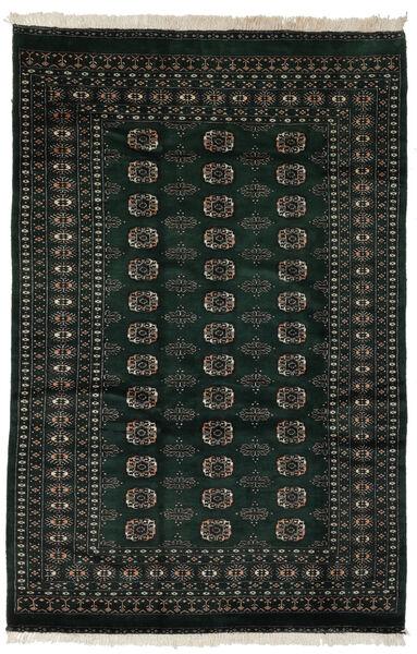 Pakistan Bokhara 2Ply Matto 160X239 Itämainen Käsinsolmittu Musta (Villa, Pakistan)
