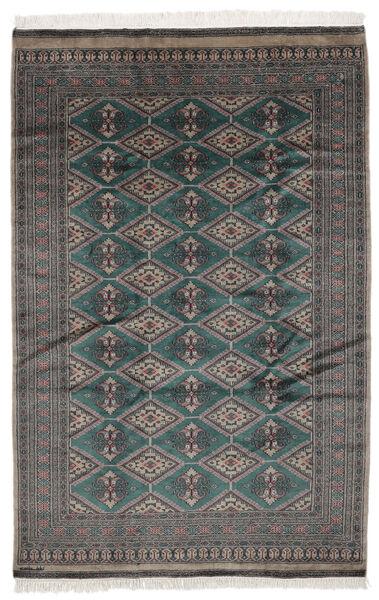 Pakistan Bokhara 2Ply Matto 161X243 Itämainen Käsinsolmittu Musta/Tummanruskea (Villa, Pakistan)