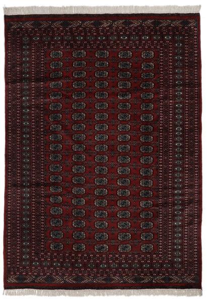 Pakistan Bokhara 2Ply Matto 184X262 Itämainen Käsinsolmittu Musta (Villa, Pakistan)