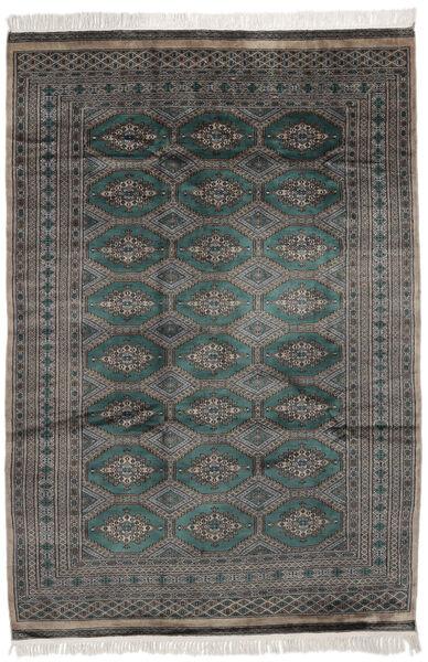 Pakistan Bokhara 2Ply Matto 162X232 Itämainen Käsinsolmittu Musta/Tummanharmaa (Villa, Pakistan)