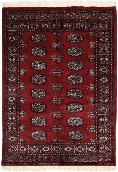 Pakistan Bokhara 3Ply Matto 127X175 Itämainen Käsinsolmittu Musta/Tummanvioletti (Villa, Pakistan)