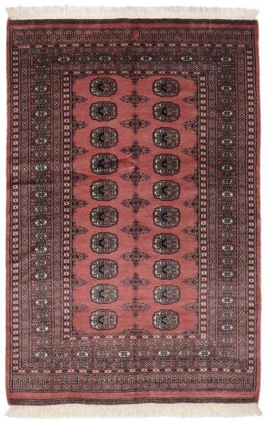 Pakistan Bokhara 2Ply Matto 131X195 Itämainen Käsinsolmittu Musta/Tummanruskea (Villa, Pakistan)