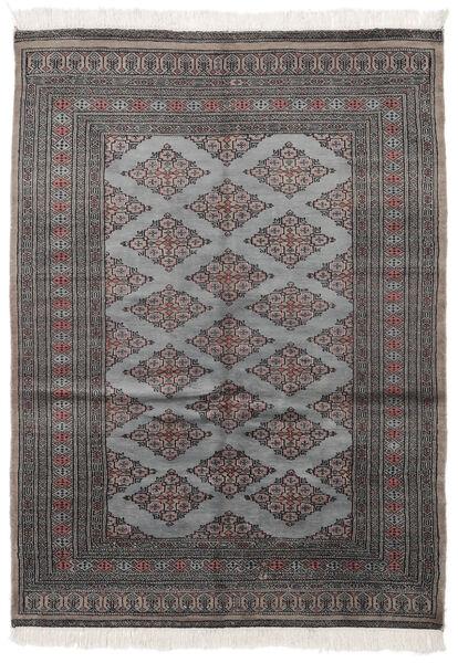 Pakistan Bokhara 2Ply Matto 128X180 Itämainen Käsinsolmittu Musta/Tummanharmaa (Villa, Pakistan)