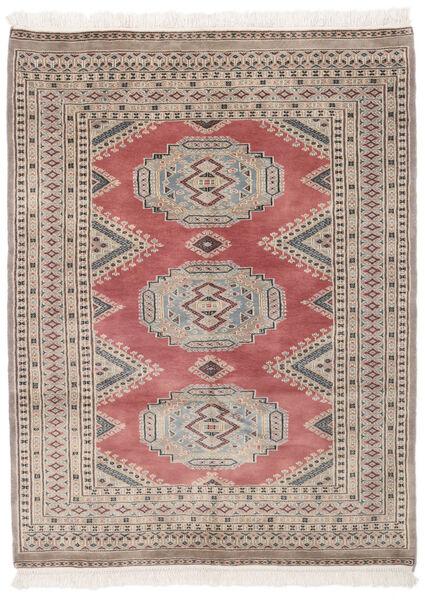 Pakistan Bokhara 2Ply Matto 130X171 Itämainen Käsinsolmittu Tummanruskea/Tummanpunainen (Villa, Pakistan)