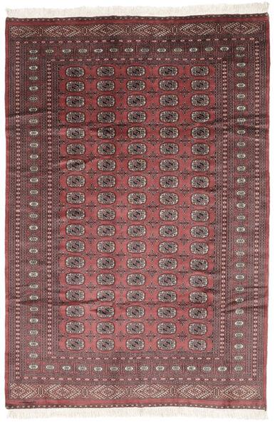 Pakistan Bokhara 2Ply Matto 190X281 Itämainen Käsinsolmittu Tummanruskea/Tummanpunainen (Villa, Pakistan)