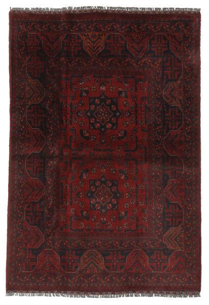 Afghan Khal Mohammadi Matto 103X151 Itämainen Käsinsolmittu Musta/Beige (Villa, Afganistan)