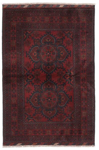 Afghan Khal Mohammadi Matto 102X149 Itämainen Käsinsolmittu Musta (Villa, Afganistan)
