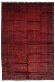 Afghan Khal Mohammadi Matto 406X582 Itämainen Käsinsolmittu Tummanpunainen Isot (Villa, Afganistan)