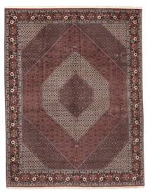 Bidjar Sherkat Farsh Matto 301X396 Itämainen Käsinsolmittu Tummanruskea/Tummanpunainen Isot (Villa, Persia/Iran)