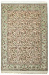 Isfahan Silkkiloimi 90% Silkki Nukka Allekirjoitettu: Dardashti Matto 252X367 Itämainen Käsinsolmittu Isot (Villa/Silkki, Persia/Iran)