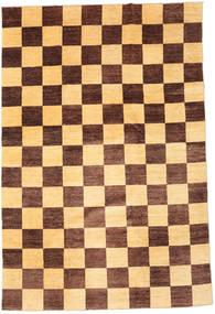 Ziegler Moderni Matto 195X295 Moderni Käsinsolmittu Tummanbeige/Vaaleanruskea (Villa, Pakistan)