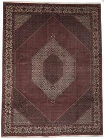 Bidjar Takab/Bukan Matto 302X398 Itämainen Käsinsolmittu Tummanpunainen/Tummanruskea Isot (Villa, Persia/Iran)