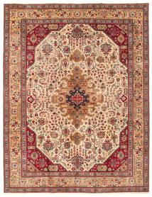 Tabriz Patina Matto 260X344 Itämainen Käsinsolmittu Isot (Villa, Persia/Iran)
