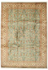 Kashmir 100% Silkki Matto 223X313 Itämainen Käsinsolmittu (Silkki, Intia)