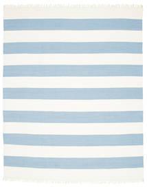 Cotton Stripe - Vaalea Sininen Matto 250X300 Moderni Käsinkudottu Vaaleansininen/Beige Isot (Puuvilla, Intia)