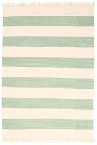 Cotton Stripe - Mint Matto 160X230 Moderni Käsinkudottu Beige/Vaaleanpunainen (Puuvilla, Intia)