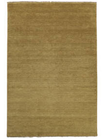 Handloom Fringes - Oliivinvihreä Matto 200X300 Moderni Ruskea/Oliivinvihreä (Villa, Intia)