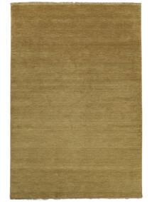 Handloom Fringes - Oliivinvihreä Matto 160X230 Moderni Oliivinvihreä (Villa, Intia)