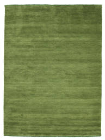 Handloom Fringes - Vihreä Matto 160X230 Moderni Oliivinvihreä (Villa, Intia)