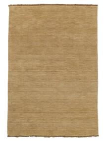Handloom Fringes - Beige Matto 160X230 Moderni Tummanbeige/Vaaleanruskea (Villa, Intia)